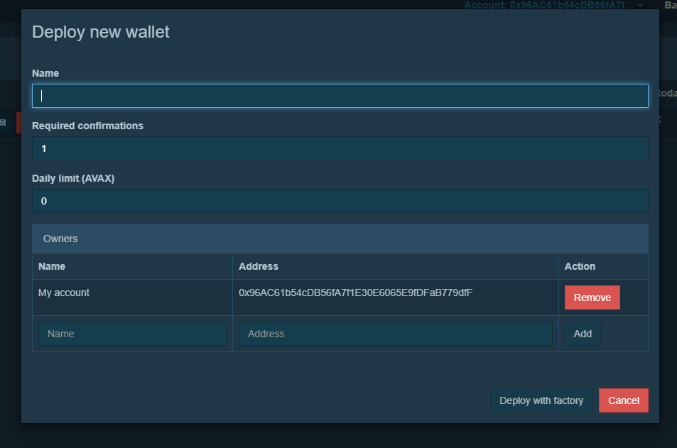 deploy pangolin multi sig wallet